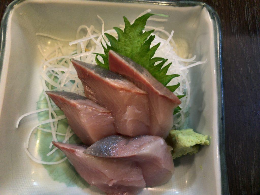 味安のハマチ(700円)