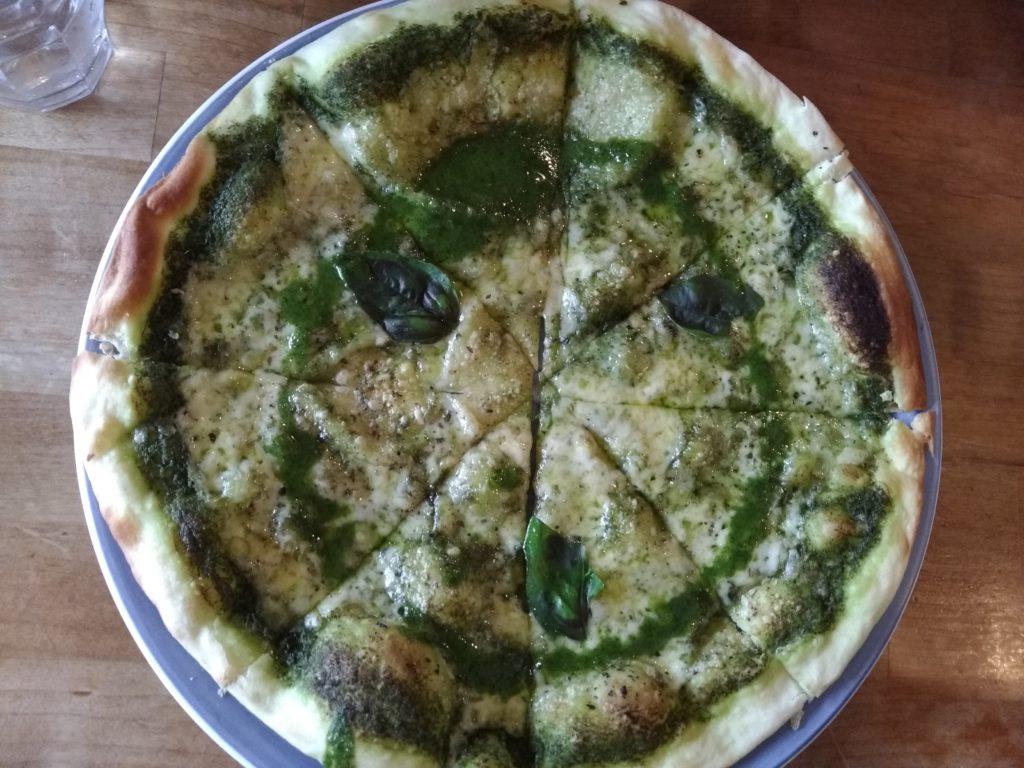 【番外編】ジェノバピッツァ(1,300円)※友人が注文していたピザ