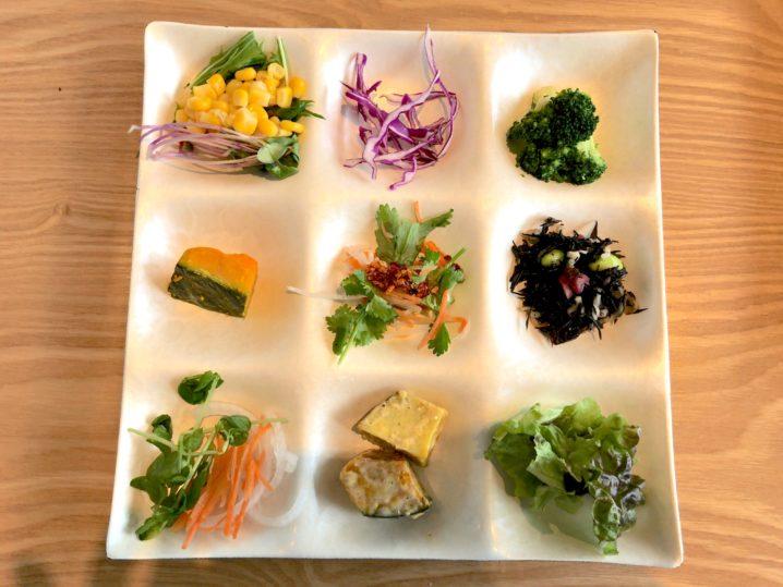 新鮮野菜をお腹いっぱい食べてきた