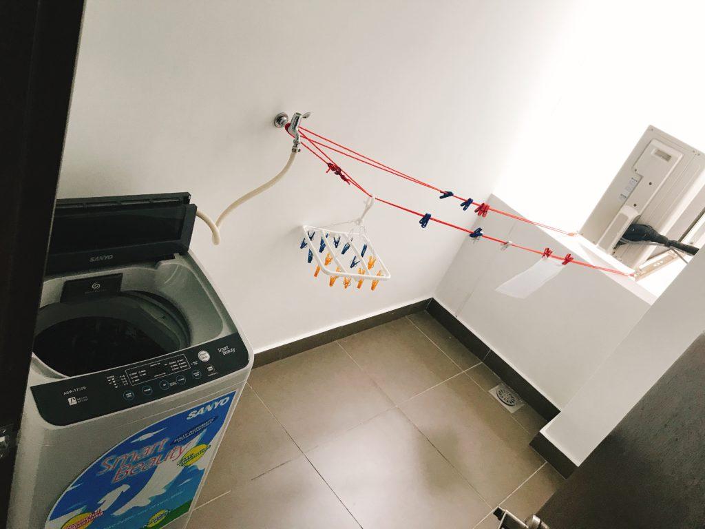 Molek Pulaiの屋外洗濯機