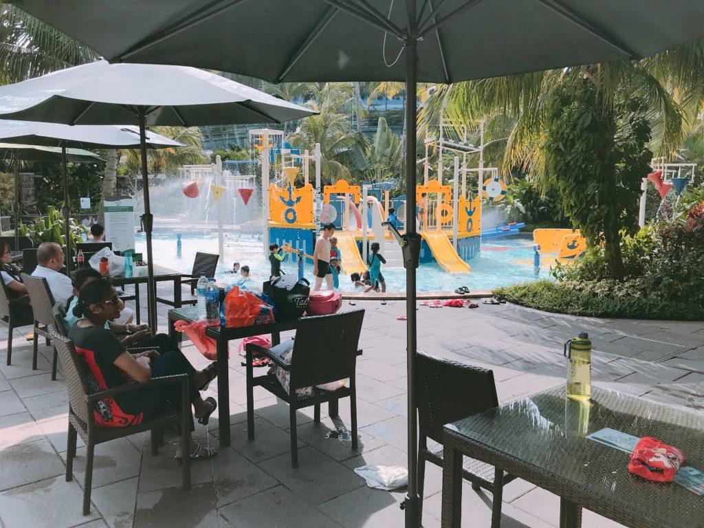 Forest Cityのプール設備