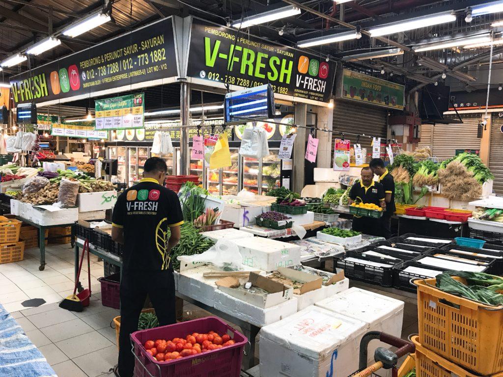ジョホールバルの市場「スマートハイパーマーケット」