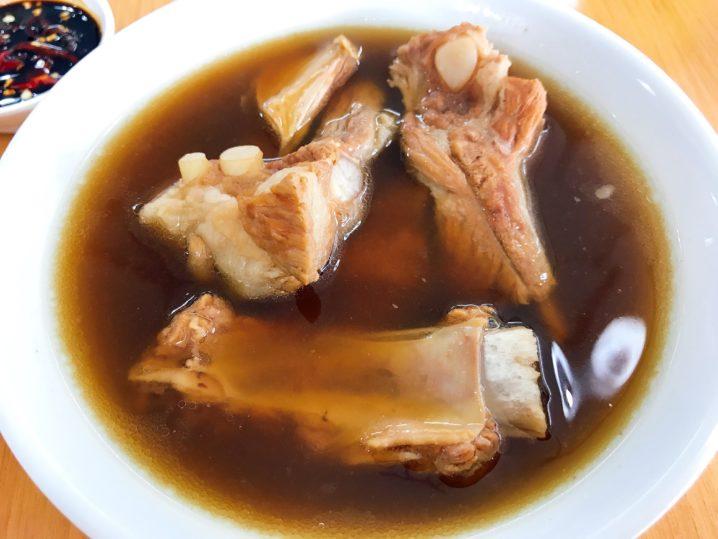 restoran yang shenで肉骨茶(パクテー)食べてきた