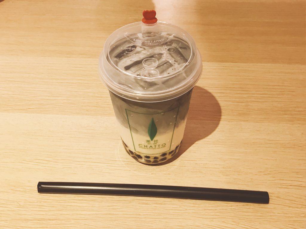 ジョホールバルのおしゃれカフェCHATTO(茶社)のOrganic Roosted Oolong Tea(180円)