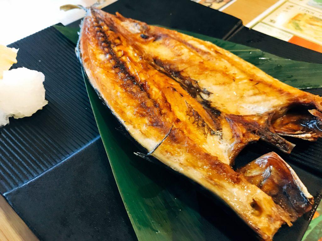 Kemuriのホッケの開き(小:750円)