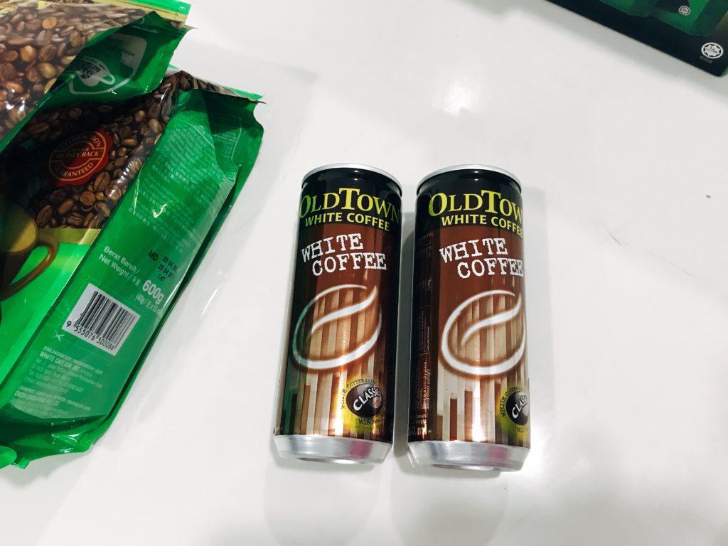 OLD TOWNのホワイトコーヒーは町中のスーパーでも購入できる✨