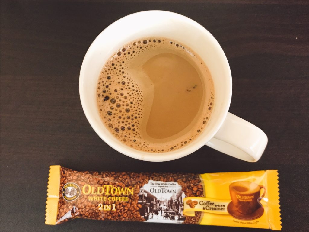 OLD TOWNのホワイトコーヒーの味
