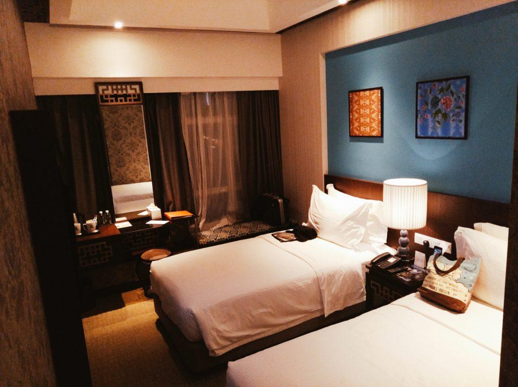 マラッカの3つ星ホテルEstadiaの客室