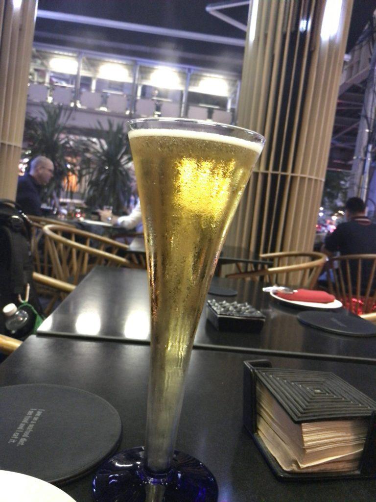 シンハービール(タワー)600円くらい(確か…150〜200Bの間)