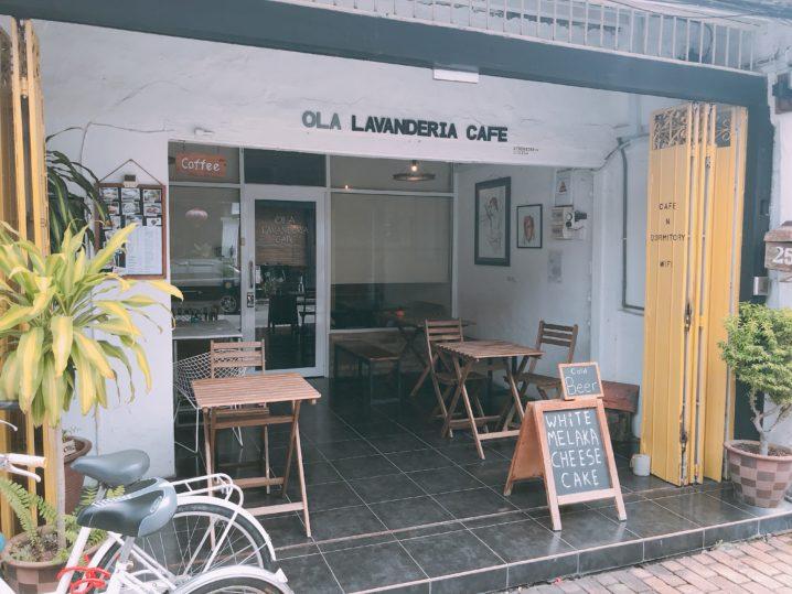 マラッカの穴場カフェOla Lavenderia cafe行ってきた