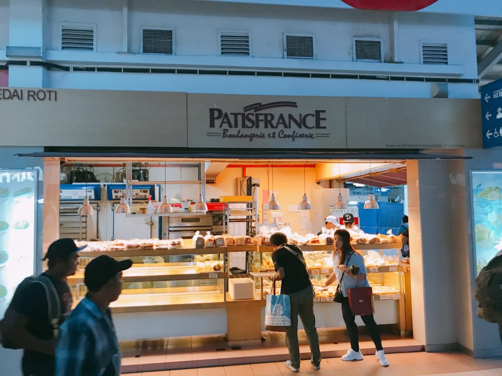 Melaka Sentralにある美味しいパン屋さん