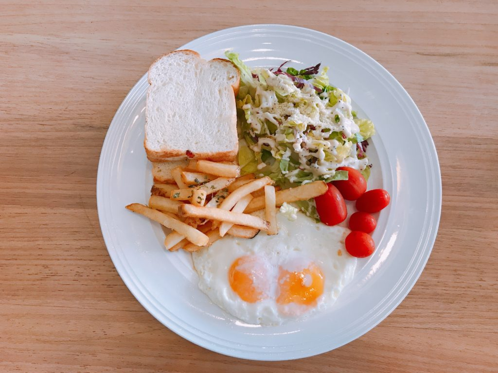 Daily Breakfast (3 items) 600円/RM19.90