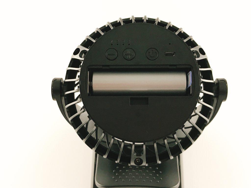 【小型扇風機に求められるポイント④】電源 or USB or 電池式