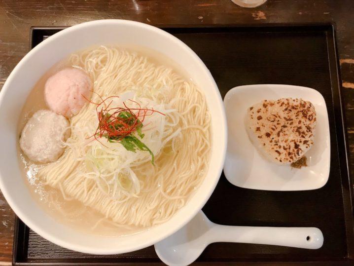 【新宿】麺屋海神の塩ラーメンが凄すぎてレビューがつらい