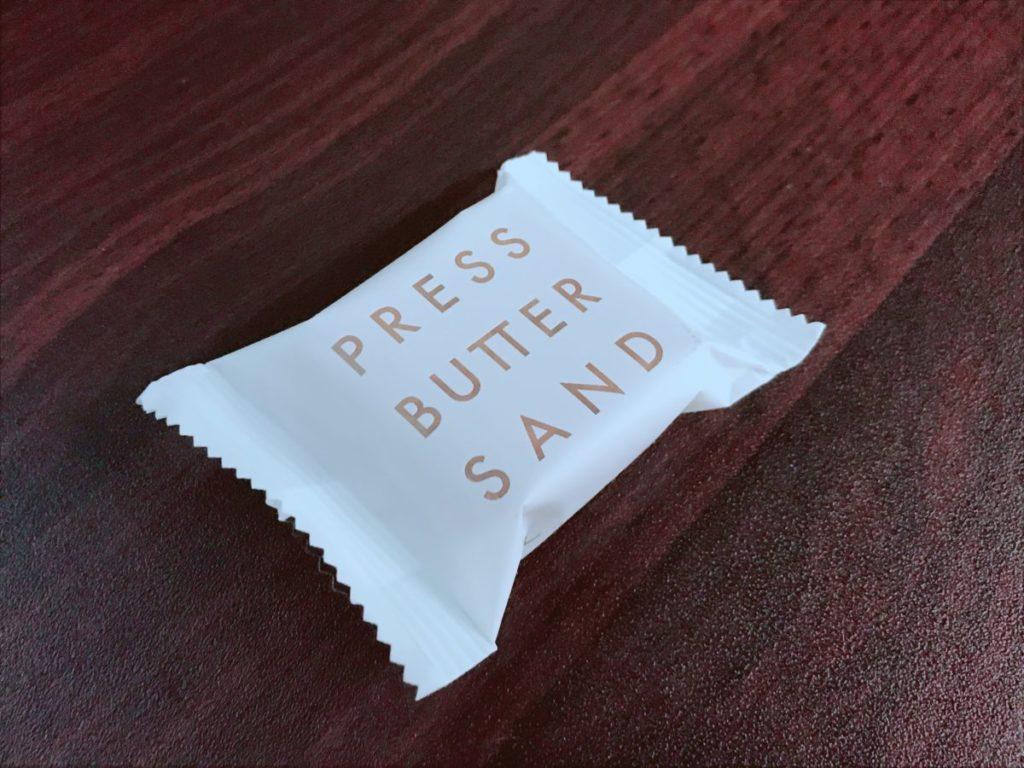 プレスバターサンドの味は?