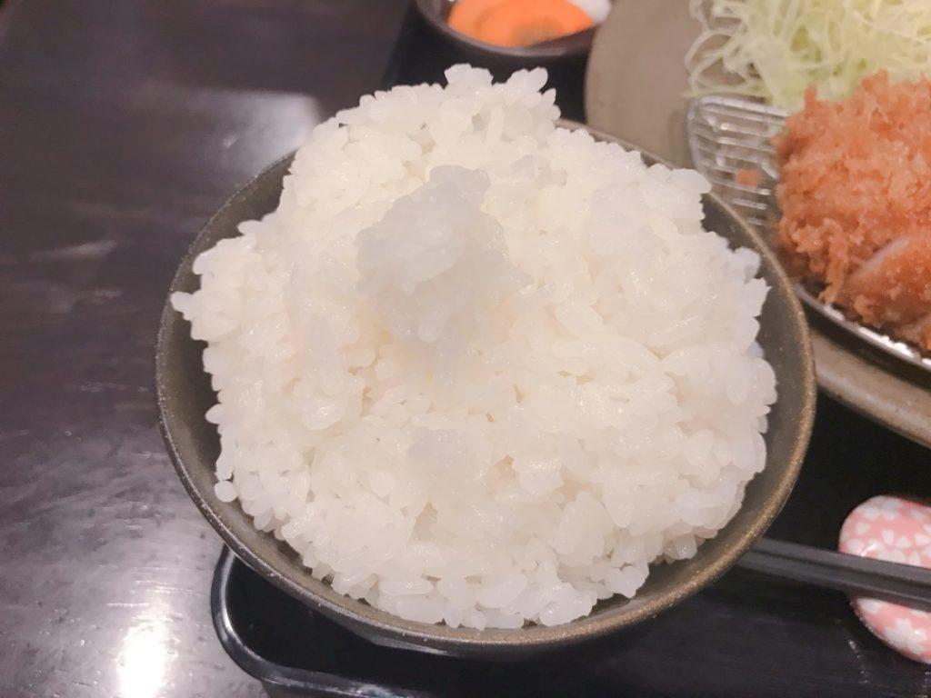 とんかつ瓢の上ロースカツ定食(1,500円)