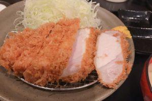 柏ランチの最高峰「瓢(ひさご)」の上ロースカツ定食1,500円が凄い!