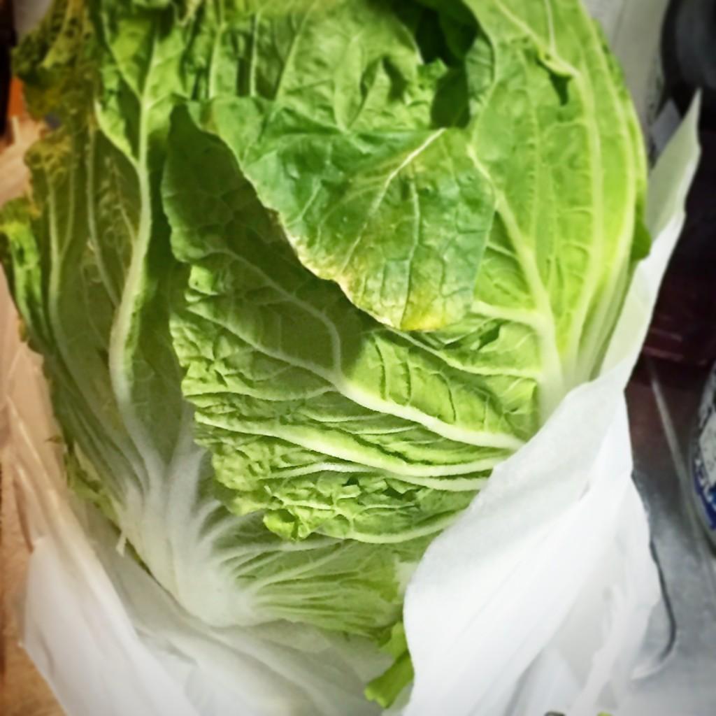 野菜の値段が下がりました
