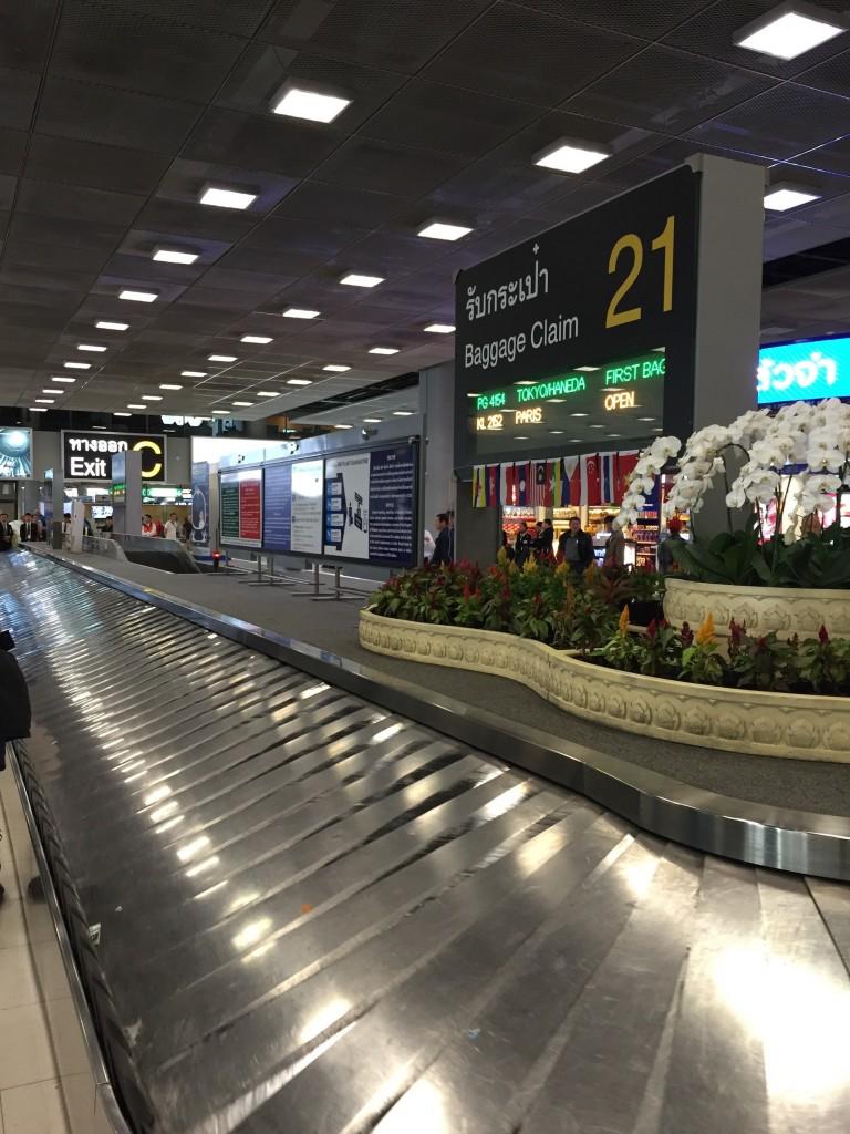 バンコク空港無料WiFi