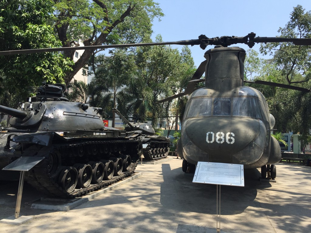 プロパガンダ満載の戦勝記念館