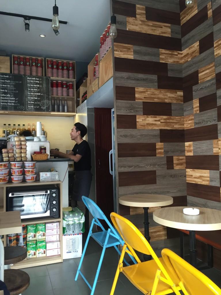 ホーチミンのWiFiカフェ特集。Mr.8コーヒー