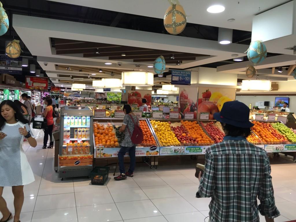 シンガポールのスーパー