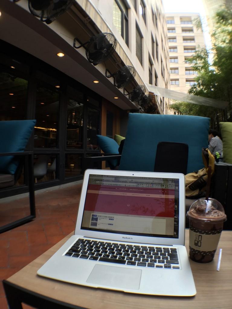 バンコクのアソーク駅からSoi23沿いにあるNIKKO CAFEは飲み物もおいしい!