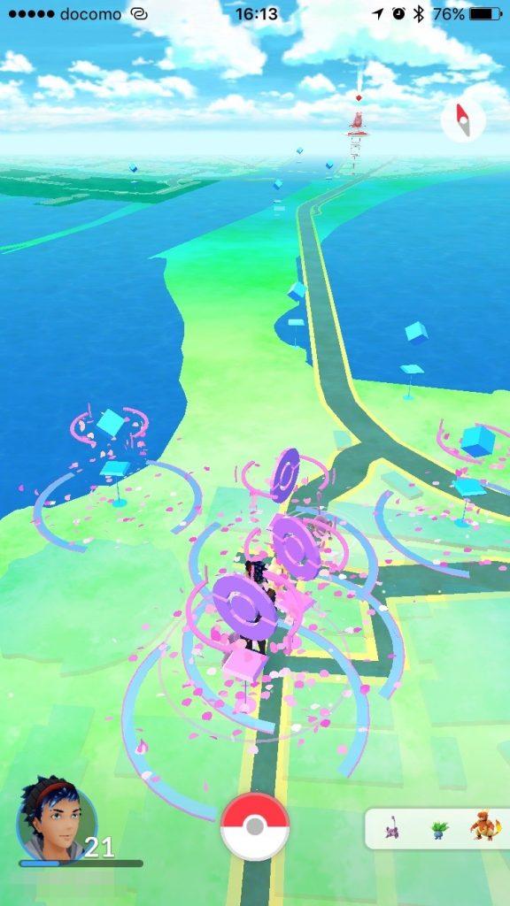 江ノ島のポケストップ