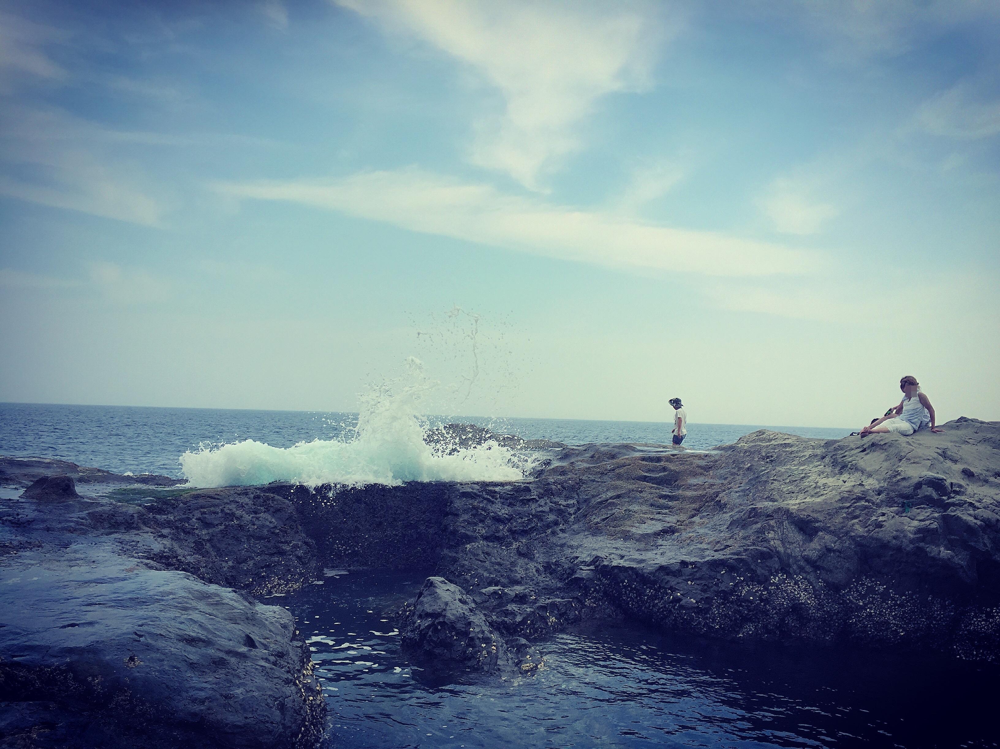 江ノ島でポケモンGO