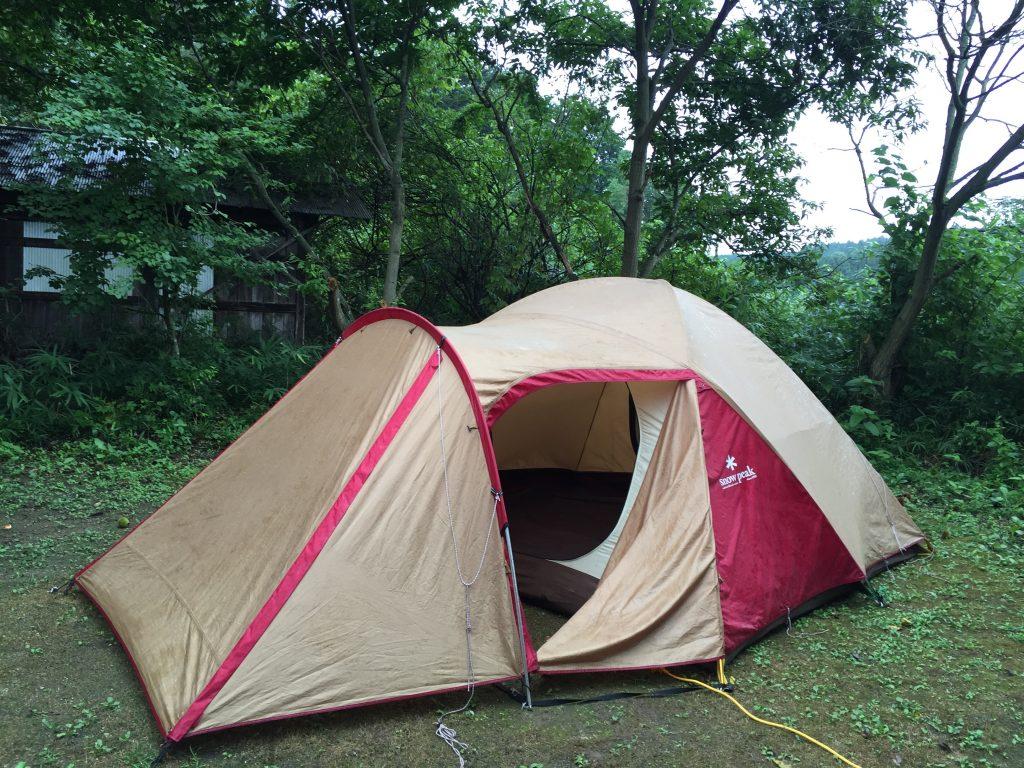 はじめてのテント泊