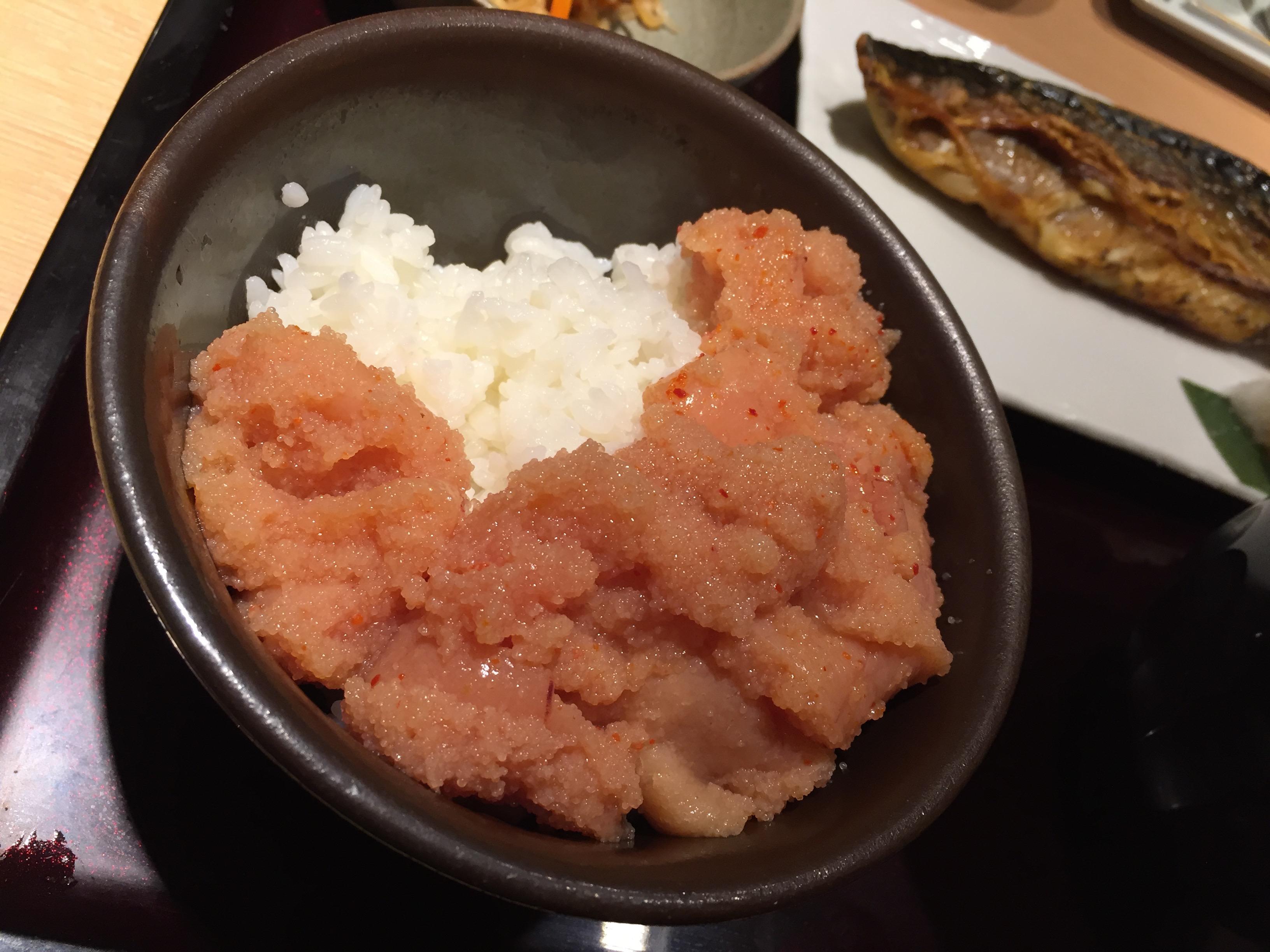 【北千住】明太子食べ放題のランチが美味しすぎる!やまや@北千住マルイ店