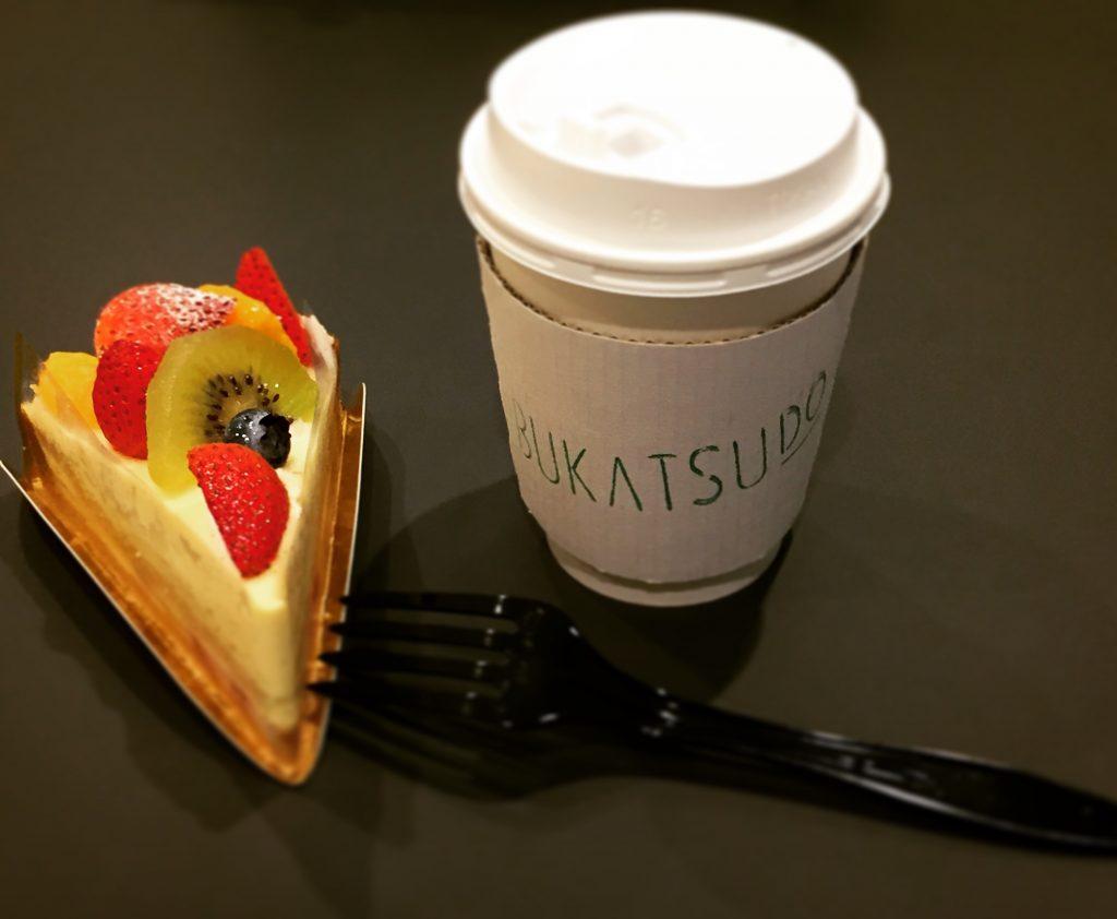 BUKATSUDOはカフェ併設