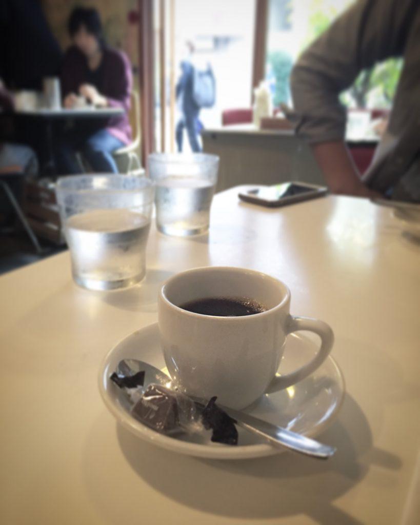 【柏グルメ】ランチ上位店「カレーの店 ボンベイ本店」のデミタスコーヒー