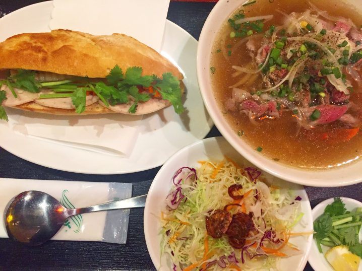 【北千住】ベトナム料理店「GOI CUON」バインミーとフォーのお得なセット✨