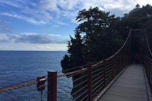 【伊豆城ヶ崎海岸】門脇吊り橋の散策コースの絶景✨