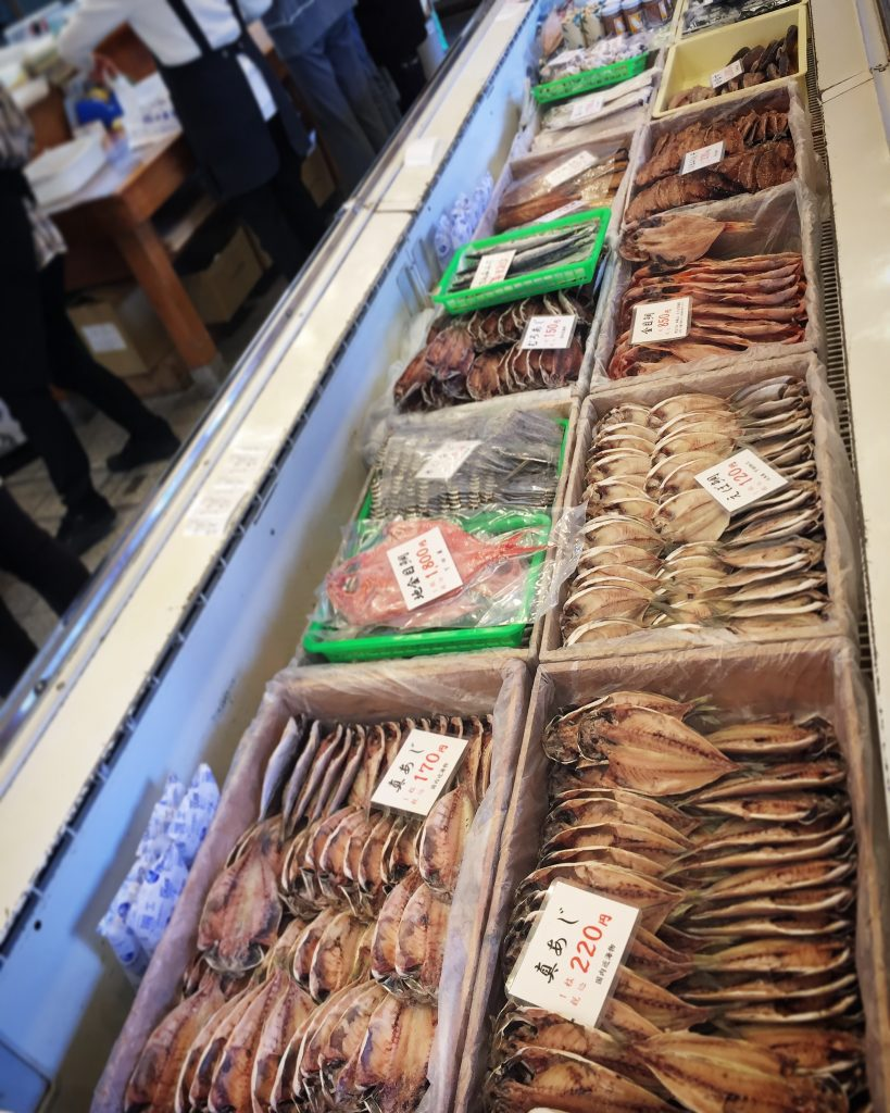 【下田お土産の人気ランキング上位】ひもの専門店・小木曽商店の干物がうまい✨