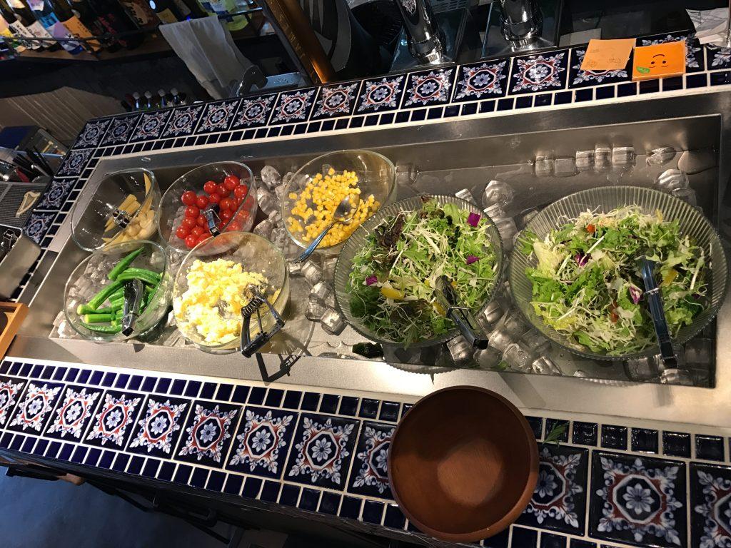 【北千住】¥800で野菜食べ放題ランチのREW-EN✨