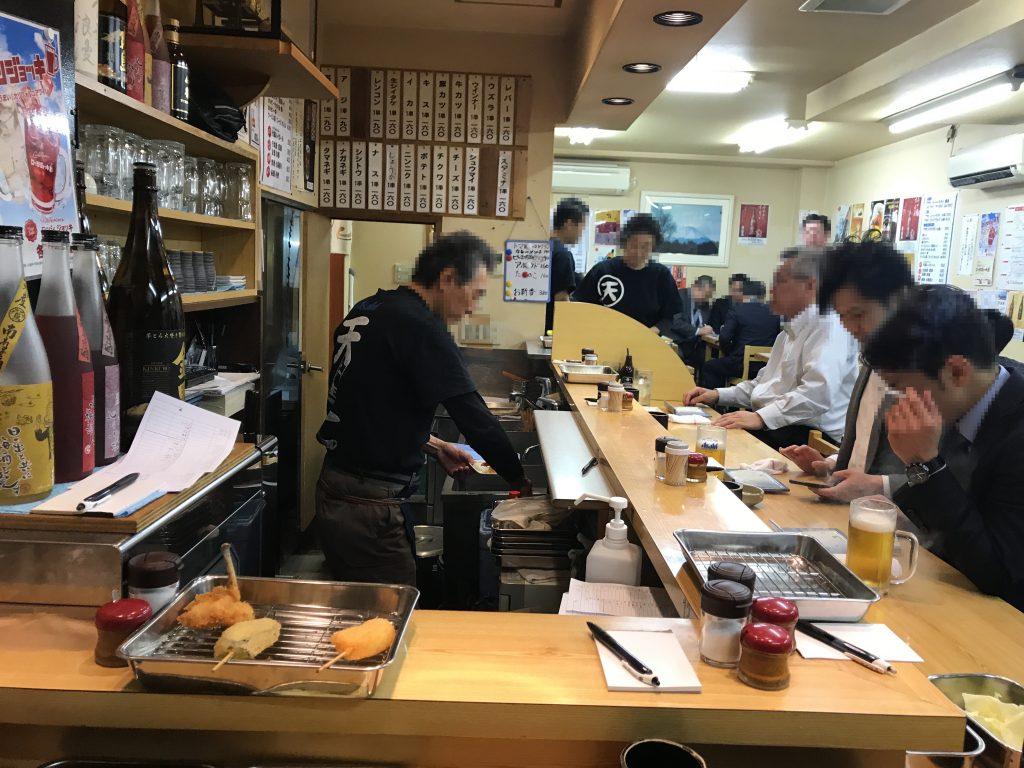 【北千住】串揚げの最高峰「天七」本店よりも分店をオススメする理由