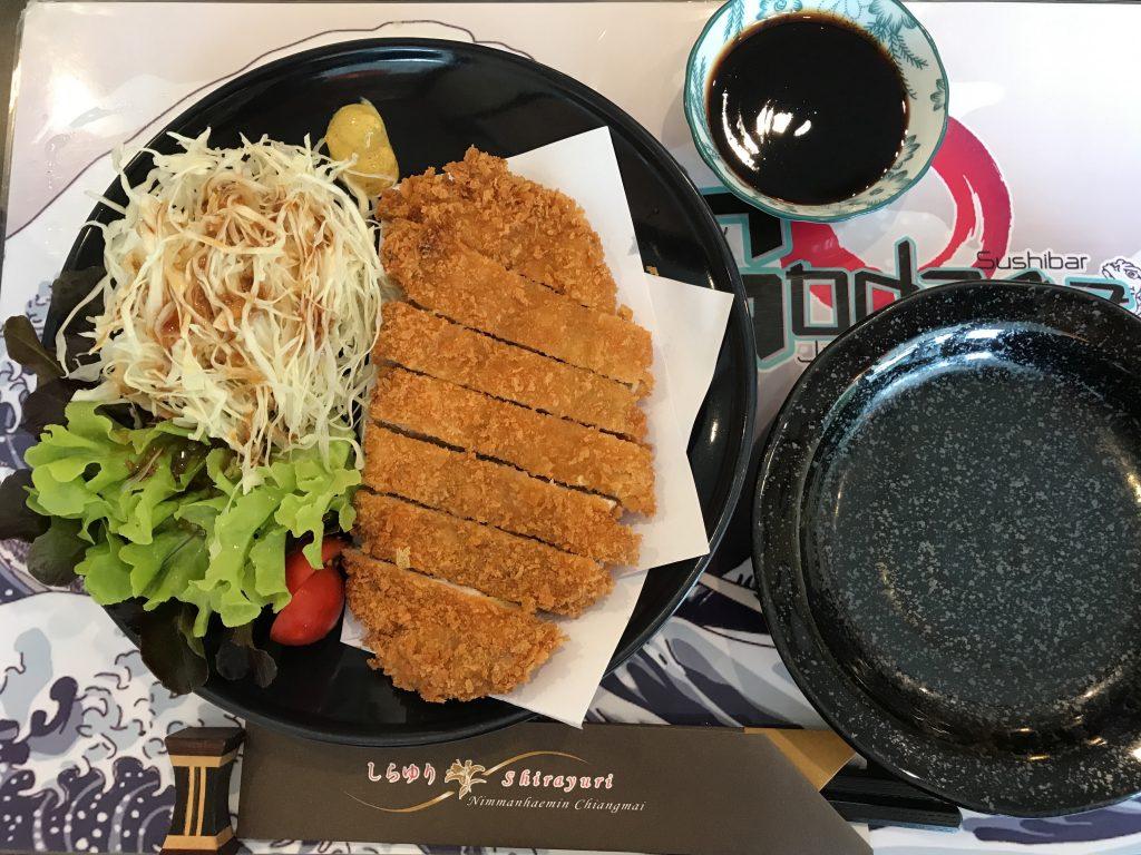 チェンマイなのに日本より美味しい冷やし中華のお店Godzaa Japanese