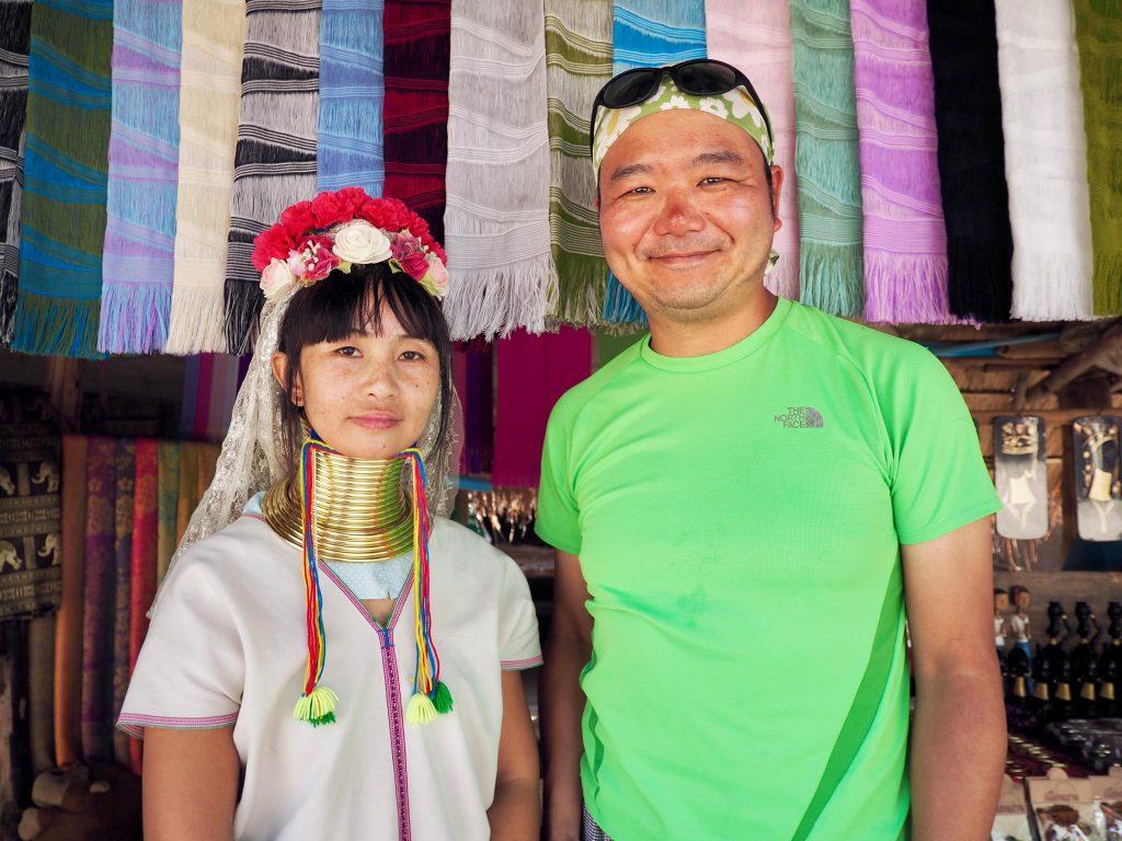 チェンマイでカレン族・首長族の村に行ってきた