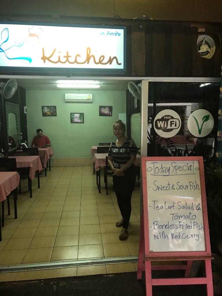 K's Kitchenの店内