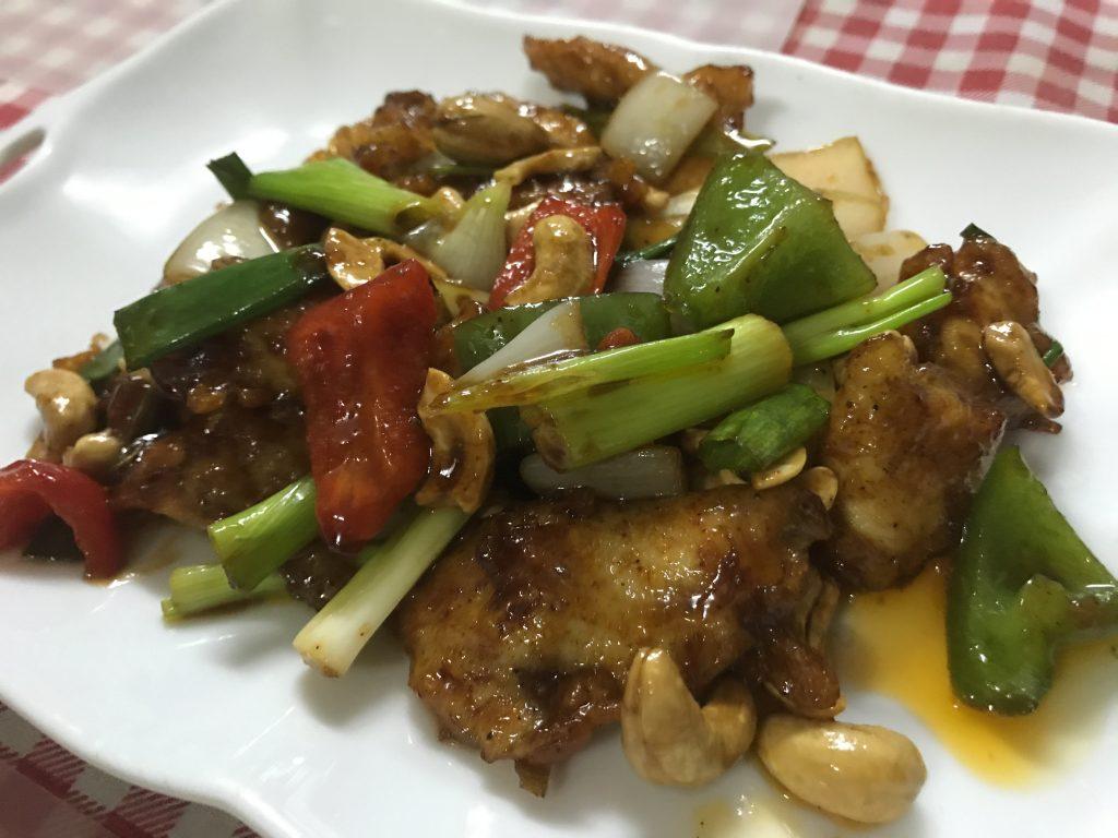 ⑩ Stir-fried Chicken with Cashews(95B)