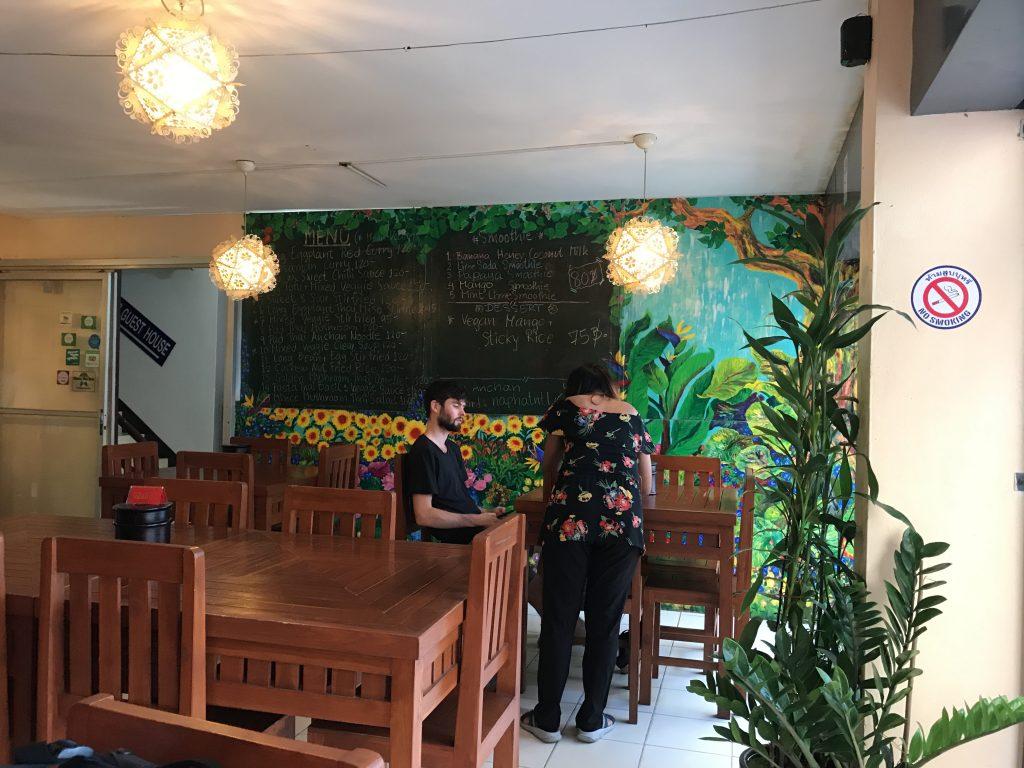 Anchan Vegetable Restaurantの店内