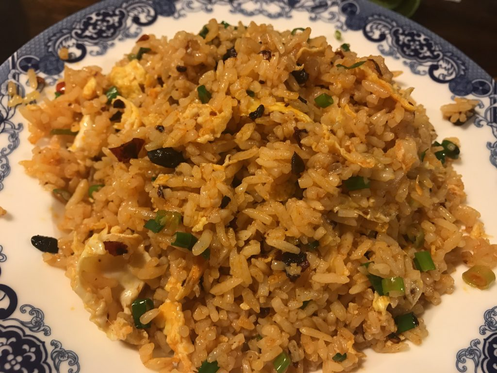 ㊻ 炒飯 Fried Rice With Chinese Spicy Sauce(120B)
