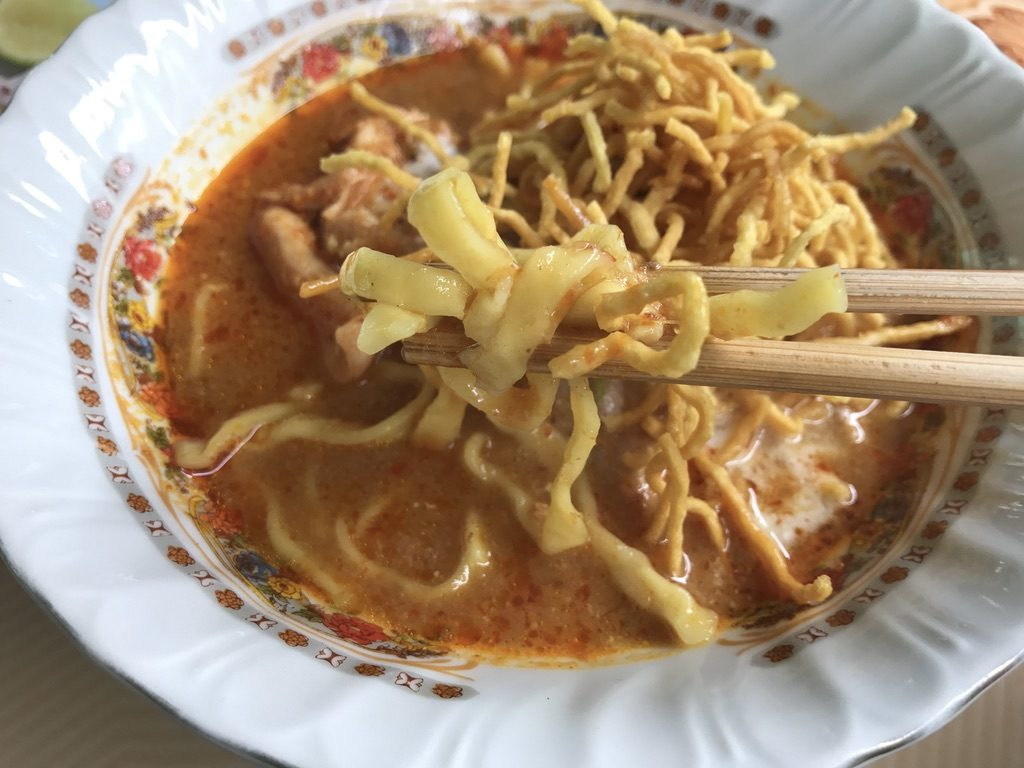 Khao Soi Chicken(140円)