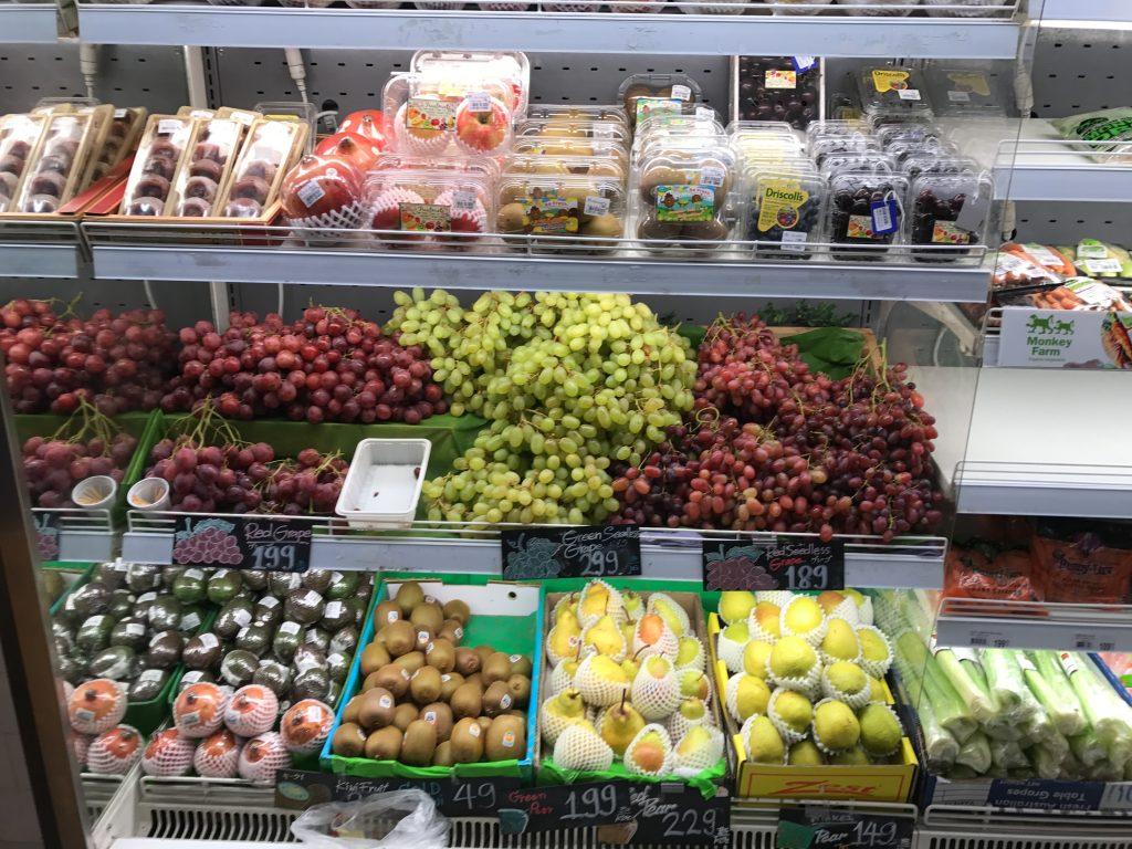 果物コーナー
