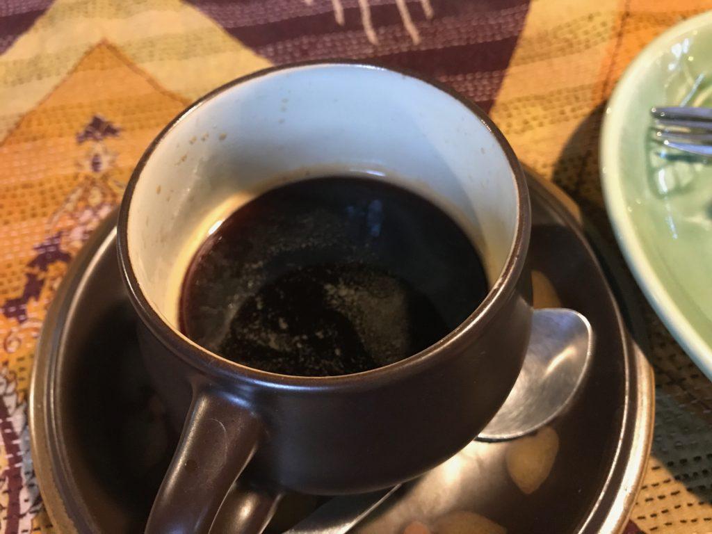 Amrita Gardenのホットコーヒー(160円)