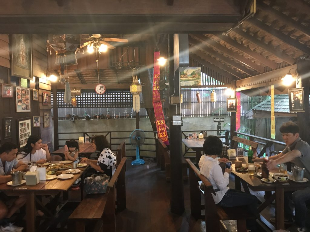 Huen Muan Jaiの店内