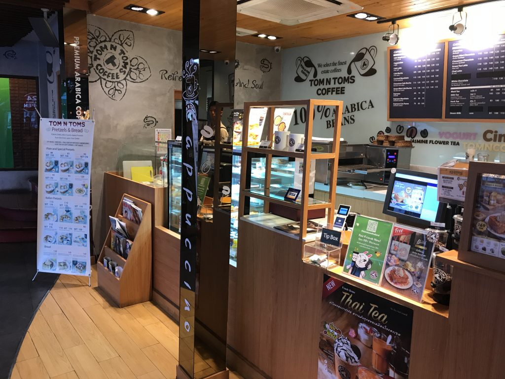Tom N Tom Coffeeの店内