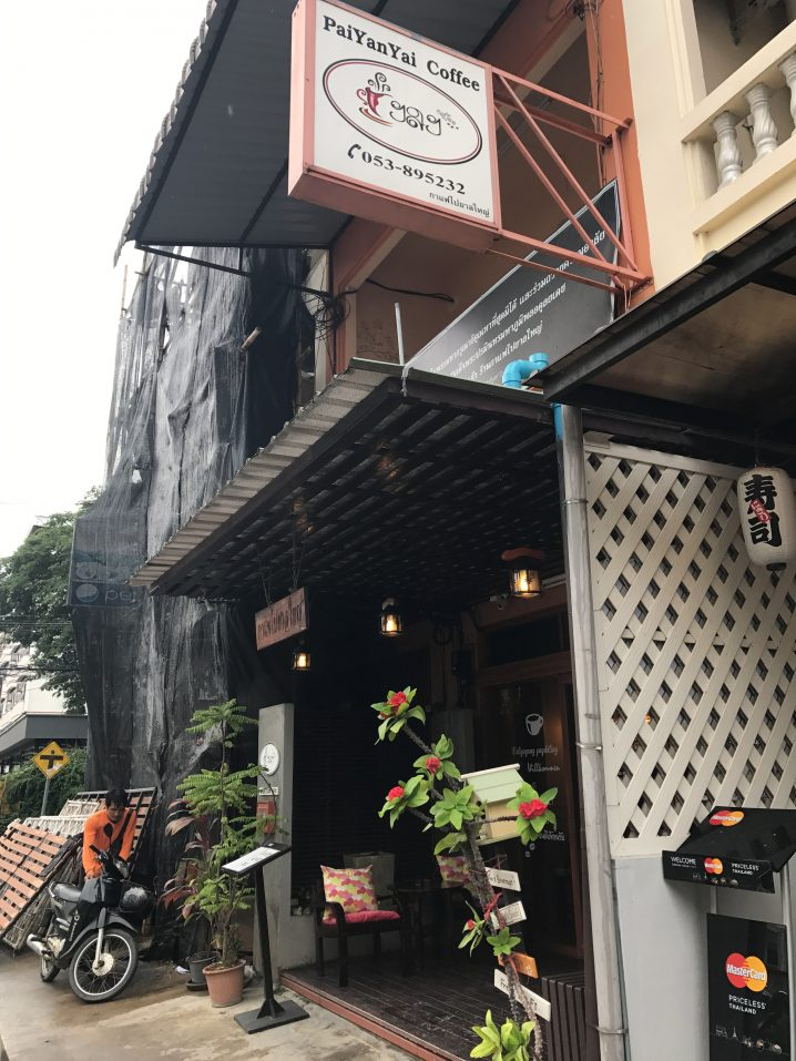 長時間滞在できる居心地いいカフェ「Pai Yan Yai Coffee」